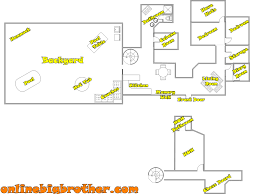 floor plans of mansions big brother house floor plans
