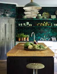 gorgeous industrial kitchen in the home of deborah brett as
