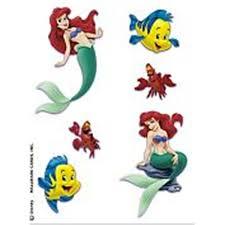 disney little mermaid temporary tattoo sheet photo 4 2017 real