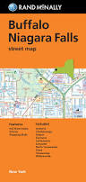 Map Buffalo Folded Map Buffalo And Niagara Falls Street Map Rand Mcnally