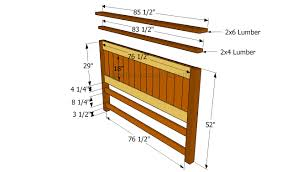How To Build A Bed Frame And Headboard How To Build A Bed Frame With Drawers Howtospecialist How To
