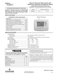 white rodgers thermostat manual 28 images white rodgers non