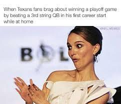 Texans Memes - nfl wild card weekend in memes