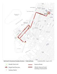Sas Route Map by A Trolley Plan For Brooklyn Inches Slowly Forward Second Ave