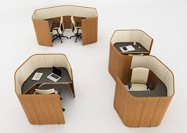 Inscape Office Furniture by Neocon 2017 Inscape Privacy Pod Benching System Wins Gold