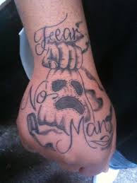 fear no man u2013 tattoo picture at checkoutmyink com