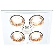 Bathroom Fan With Heat Lamp Valuable Bathroom Heater Lights Deluxe 3 In 1 Bathroom Heater In