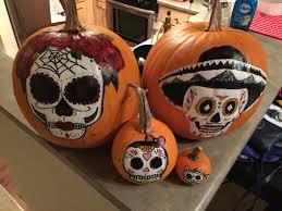 sugar skull painted for halloween u2013 co
