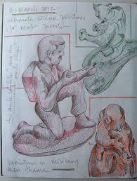 art skool damage christian montone sketch to finish monkeys