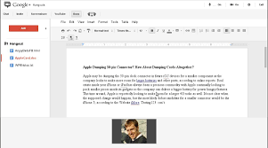How To Make A Table In Google Spreadsheet Google Adds Google Docs Integration To Google Hangouts Pcworld