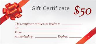 gift certificates gift certificate printing print custom gift certificates at