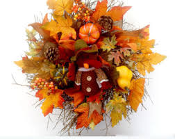 thanksgiving reefs small wreath etsy