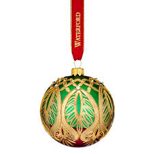 2017 heirlooms peacock grande ornament by waterford