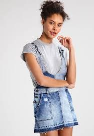 denim dress womens clothes