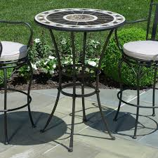 Bar Height Swivel Patio Chairs Bar Height Patio Furniture Stools Outdoor Chairs Dining Table And