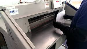 ideal triumph 7228 95 paper cutter youtube