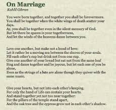 wedding wishes kahlil gibran a moving sea between the shores of your souls kahlil