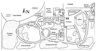 map usf usf botanical gardens