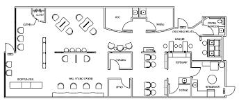 floor plan small nail salon interior design ideas architecture