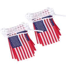 Baby Flag Amazon Com 2 Piece Set Of Usa String Flag Banners Small United