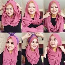 tutorial jilbab ala ivan gunawan kumpulan cara memakai jilbab dan tutorial hijab modern