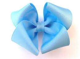 blue bows light blue hair bow robins egg baby blue bowssomething