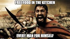 Free Food Meme - the best work related memes small towns city lights