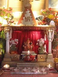 Home Temple Decoration Ideas Desikalakar Ganpati Decorations For The Ganpati Festival