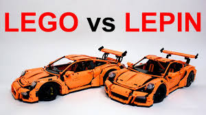 porsche lego set lego technic porsche 42056 vs китайское лего техник lepin 20001