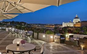 la terrazza hotel atlante rome official site panoramic roof garden