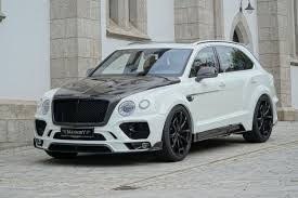 first bentley ever made mansory has refined the bentley bentayga to create the ultimate