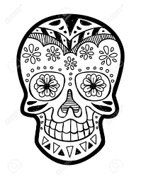 skull tattoo images free sugar skull royalty free cliparts vectors and stock illustration