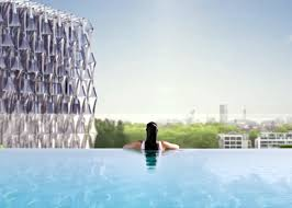lexus of westminster jobs glass bottom sky pool is suspended 115 feet in the air lets you