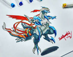 white kyurem white kyurem by sfkdraw