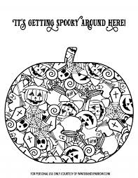 cute totally free halloween coloring pages halloween