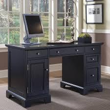 Sauder Graham Hill Computer Desk With Hutch by Bedford Black Pedestal Desk Walmart Com