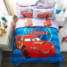 disney cars bedding set disney 100 cotton cartoon mcqueen cars bedding set blue duvet