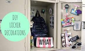 diy locker decorations for back to youtube