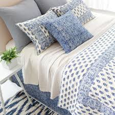 Pine Cone Hill Duvet Pine Cone Hill Annette Blue Quilt Ships Free