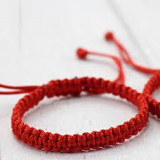 bracelet knots images Tibetan buddhist red string bracelet for men and men adjustable jpg