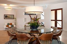 Tray Ceiling Dining Room - glass table chairs dining room contemporary with tray ceiling