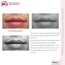 how to draw lips yoyo u0027s art lessons