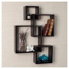 Target Shelves Cubes by Intersecting Cube Shelves Espresso Target