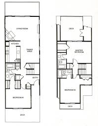 Townhome Floor Plan by Three Bedroom Townhomes