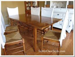 How To Make A Pedestal Table How To Enlarge A Dining Room Table For Extra Seating In My Own Style