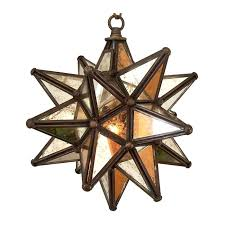 star light fixtures ceiling antique mirrored glass star light bronze frame 9 wholesale