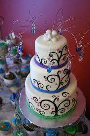 peacock esque mini wedding cake lolo u0027s cakes u0026 sweets