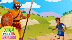 david and goliath bible story for kids u0026 children youtube