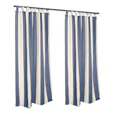 Curtains With Tabs Striped Outdoor Curtains Dfohome