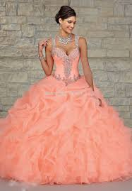 hot new years dresses 2015 hot new sweetheart gown orange see though back
